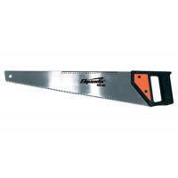 Ножовка по дереву, 400 мм, 5-6 TPI, каленый зуб, линейка, пластиковая рукоятка Sparta 232305