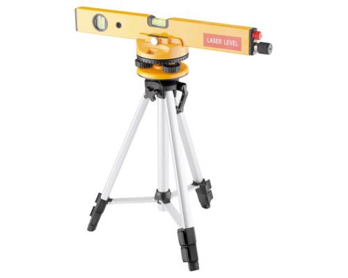 Уровень лазерный, 400 мм, 1050 мм штатив 3 глазка, набор (база, 2 линзы) в пластиковом боксе MATRIX 35029