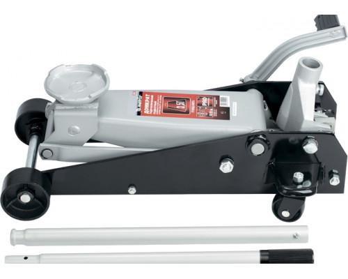 Домкрат гидравлический 3.5 т, подкатный, h подъема 145-490 мм, с педалью Matrix Master 51045
