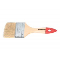 """Кисть плоская """"Стандарт"""" 3/4"""" (20 мм), натуральная щетина, деревянная ручка Matrix 82515"""