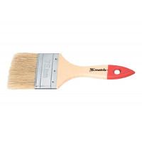 """Кисть плоская """"Стандарт"""" 1"""" (25 мм), натуральная щетина, деревянная ручка Matrix 82520"""