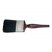 """Кисть плоская """"Декор"""" 1"""" (25 мм), натуральная черная щетина, деревянная ручка Matrix 82620"""