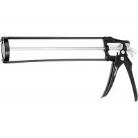 """Пистолет для герметика, 310 мл, """"скелетный"""" усиленный с фиксатором, 6-гранный шток 6 мм Sparta 886125"""
